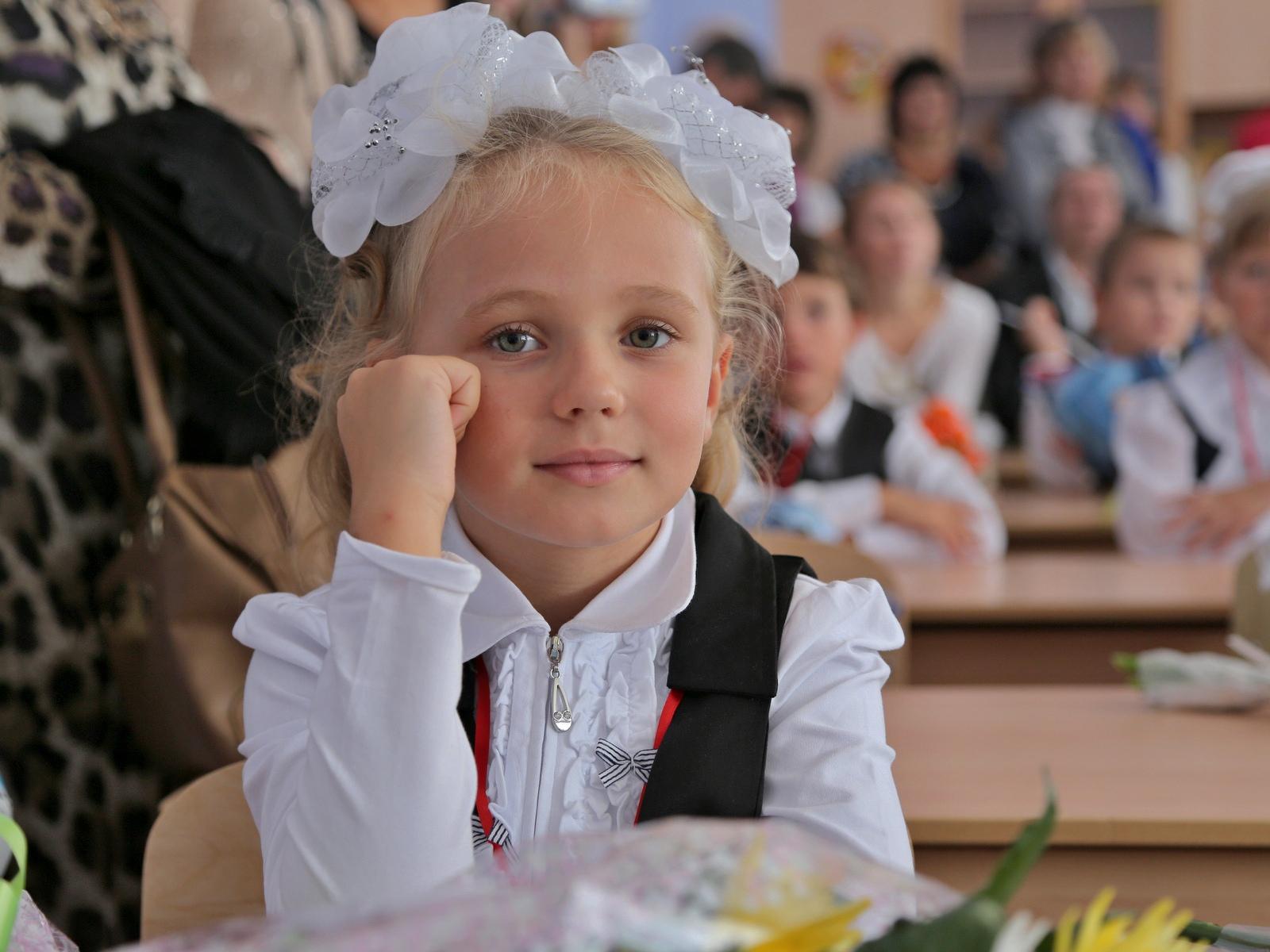 Девочка в классе картинка