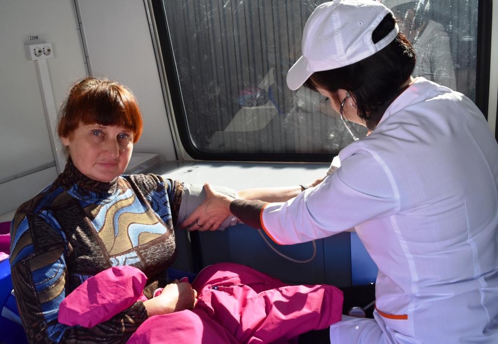 В День физкультурника жители края смогут проверить свое здоровье в мобильных центрах