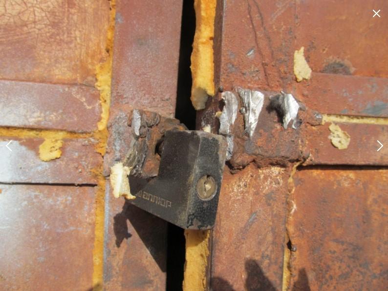 Рубцовчанина задержали по подозрению в совершении хищения имущества из гаражей