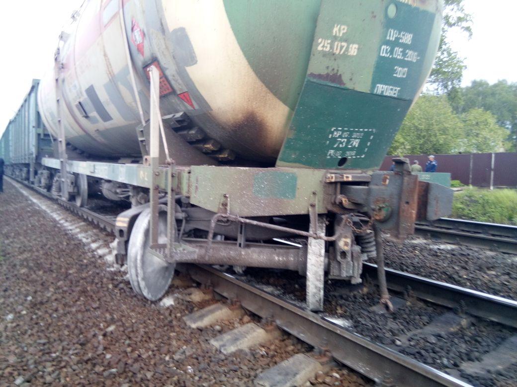 В Алтайском крае произошло железнодорожное ЧП