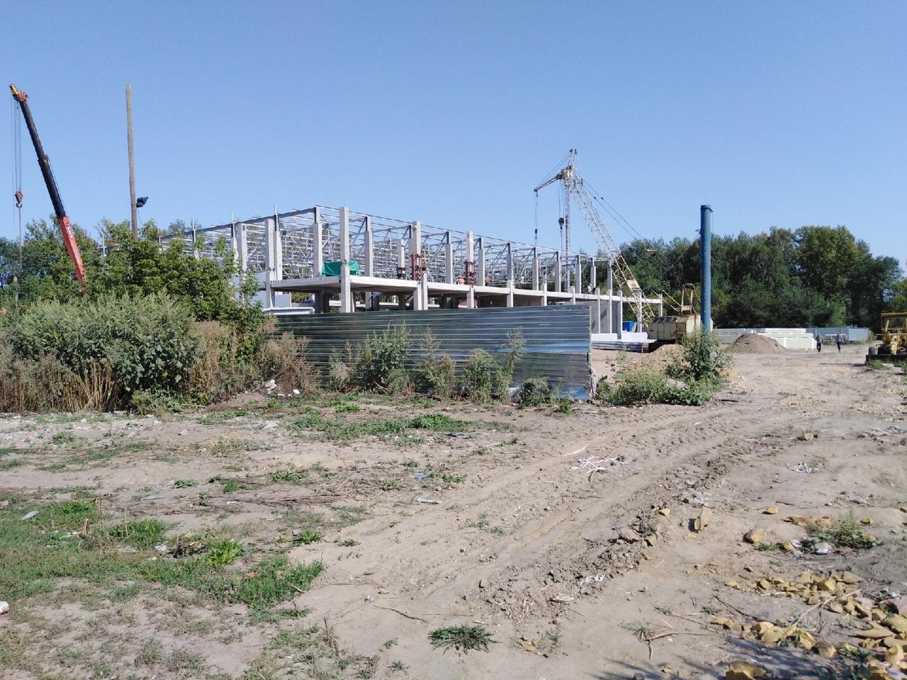 В Рубцовске заметно продвинулось строительство