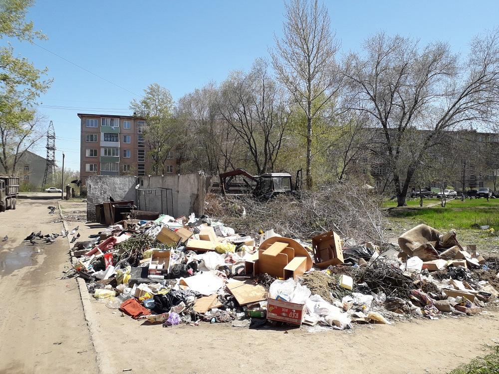 Рубцовск занял  одну из нижних строк рейтинга наиболее грязных городов страны