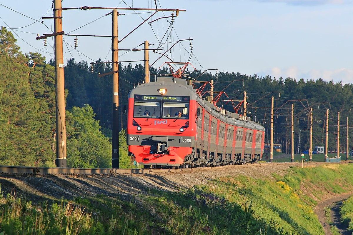 В Алтайском крае временно изменится расписание пригородных поездов