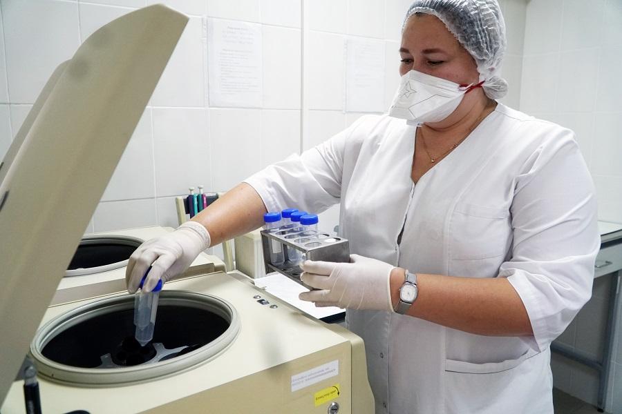 В СИЗО-1 УФСИН России по Алтайскому краю проведен капитальный ремонт региональной бактериологической лаборатории
