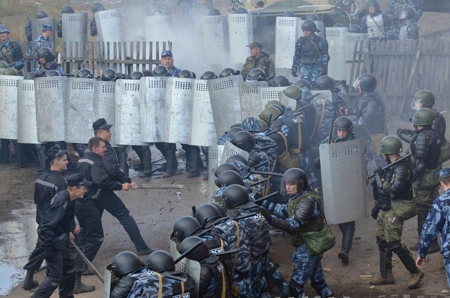 В Рубцовске прошли межведомственные тактико-специальные учения