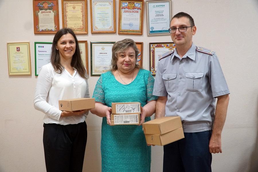 Сотрудники ИК-11 УФСИН России по Алтайскому краю посетили центр помощи детям, оставшимся без попечения родителей