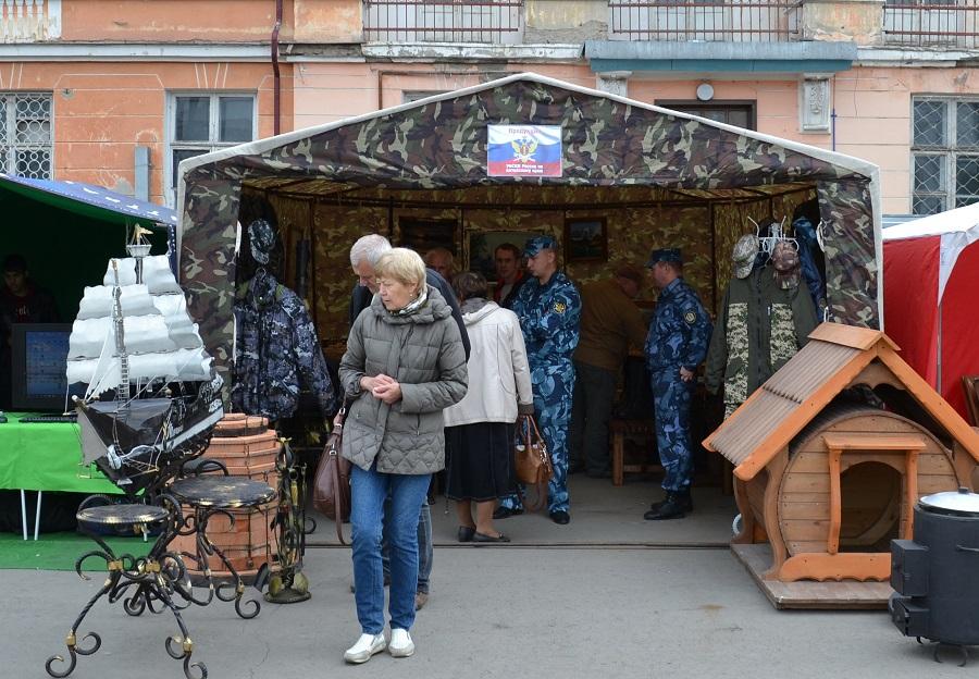 В Рубцовске состоялась выставка продукции, выпускаемой в учреждениях УФСИН России по Алтайскому краю