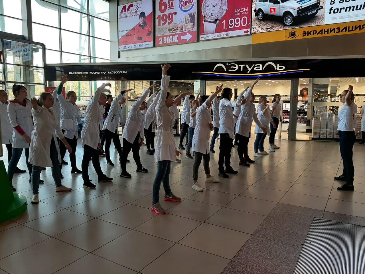 Около 200 барнаульцев приняли участие в мероприятиях к Всемирному дню сердца