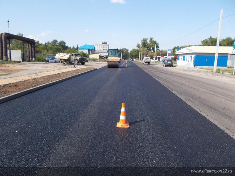 За счет бюджета Алтайского края в Рубцовске отремонтировали 5 улиц
