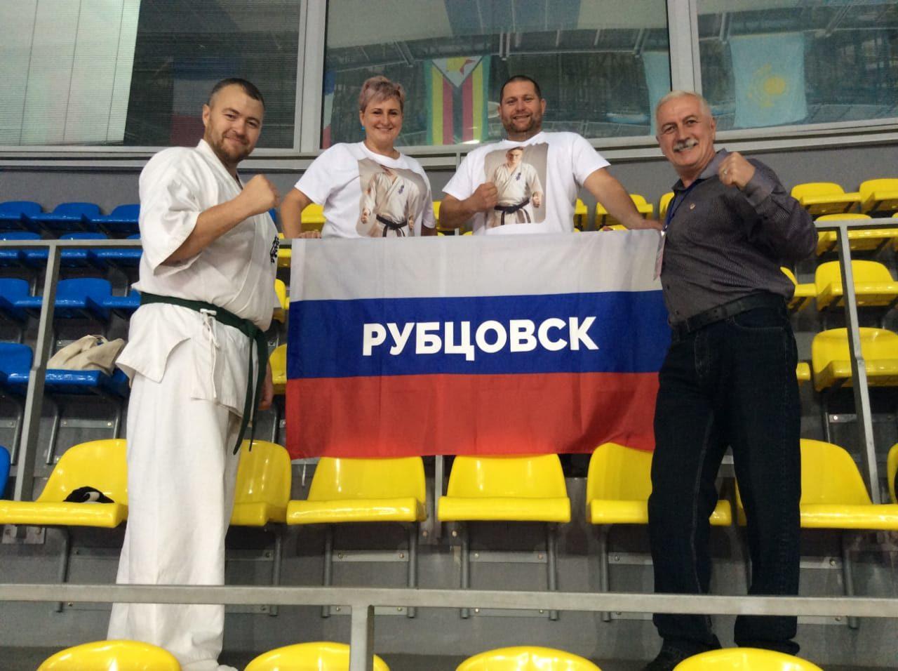 Рубцовчанин завоевал золото Кубка Мира по Киокушин карате