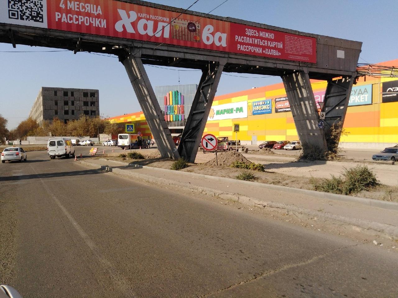 В Рубцовске начали ремонт злополучного поворота на