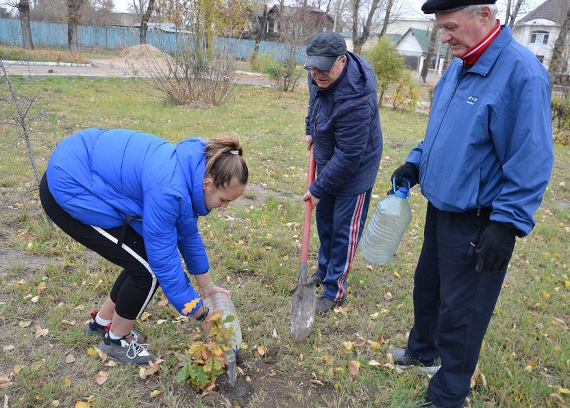 В Рубцовске прошла эколого-патриотическая акция