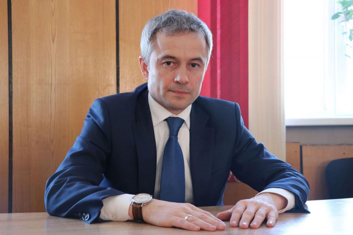 Министр спорта Алтайского края Алексей Перфильев посетил Рубцовск