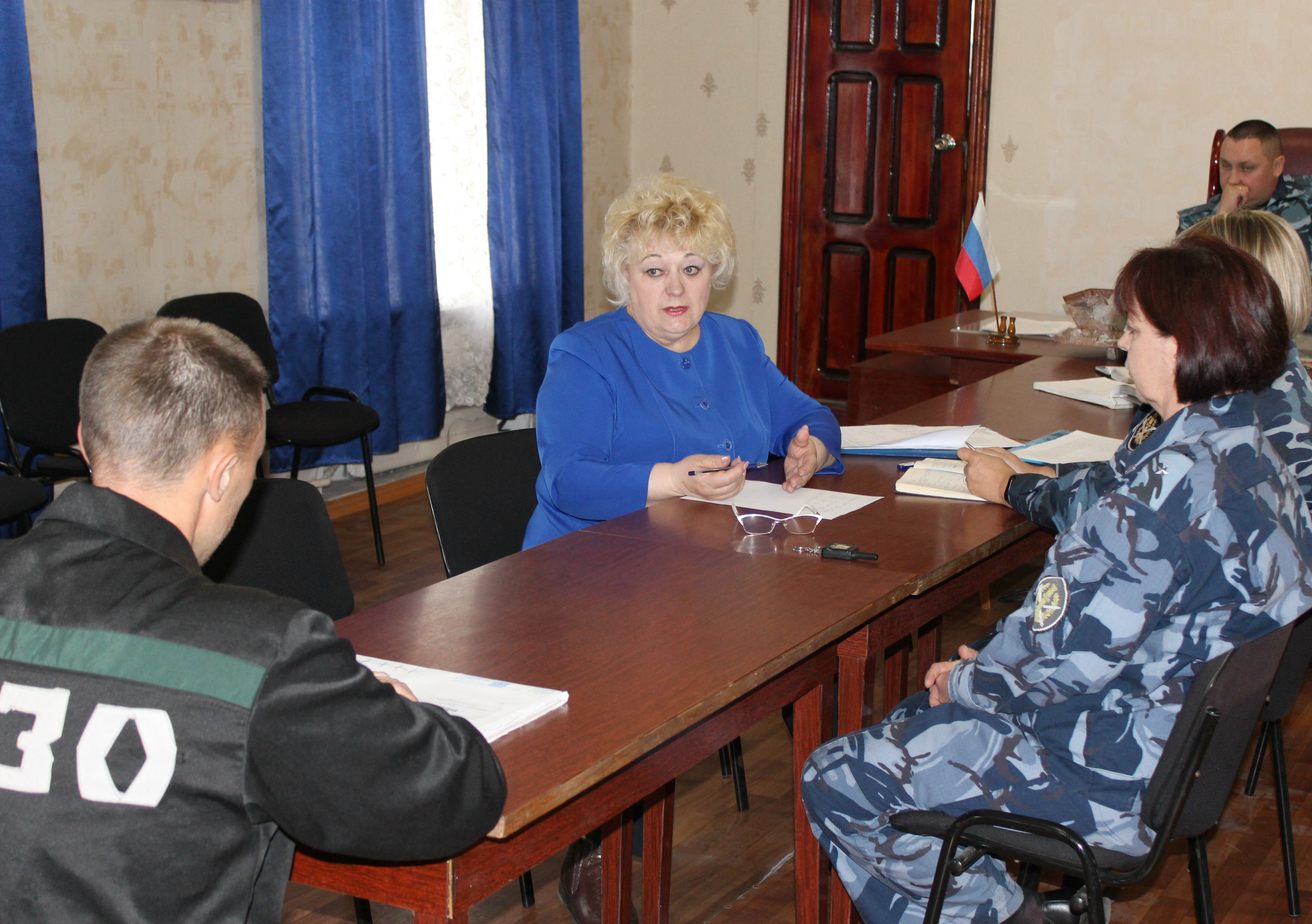 ИК-5 УФСИН России по Алтайскому краю посетила консультант Уполномоченного по правам человека в Алтайском крае