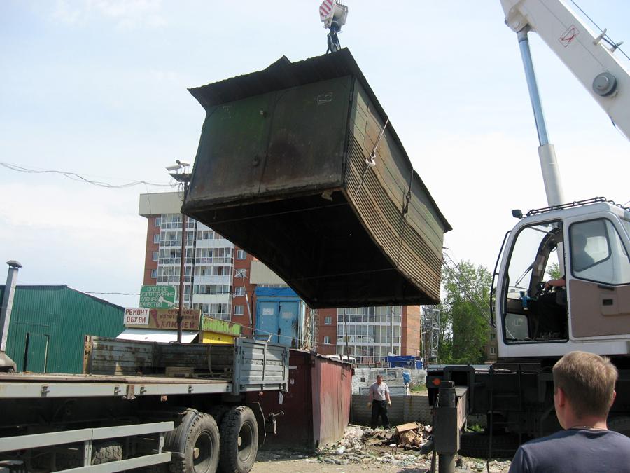 Администрация Рубцовска намерена в принудительном порядке убрать металлические гаражи по Карла Маркса