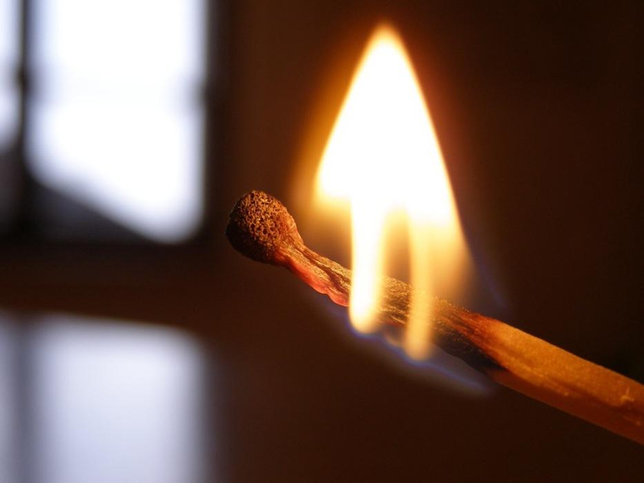 В Рубцовском районе был совершён поджёг. Полиция ведёт расследование