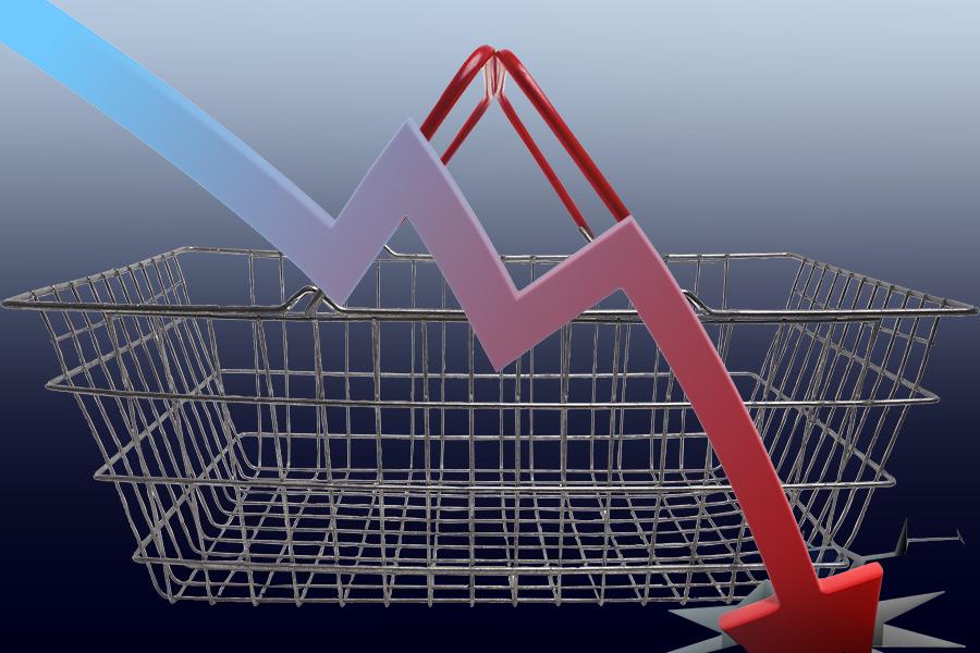 Инфляция в Сибири в сентябре снизилась до 4,5%