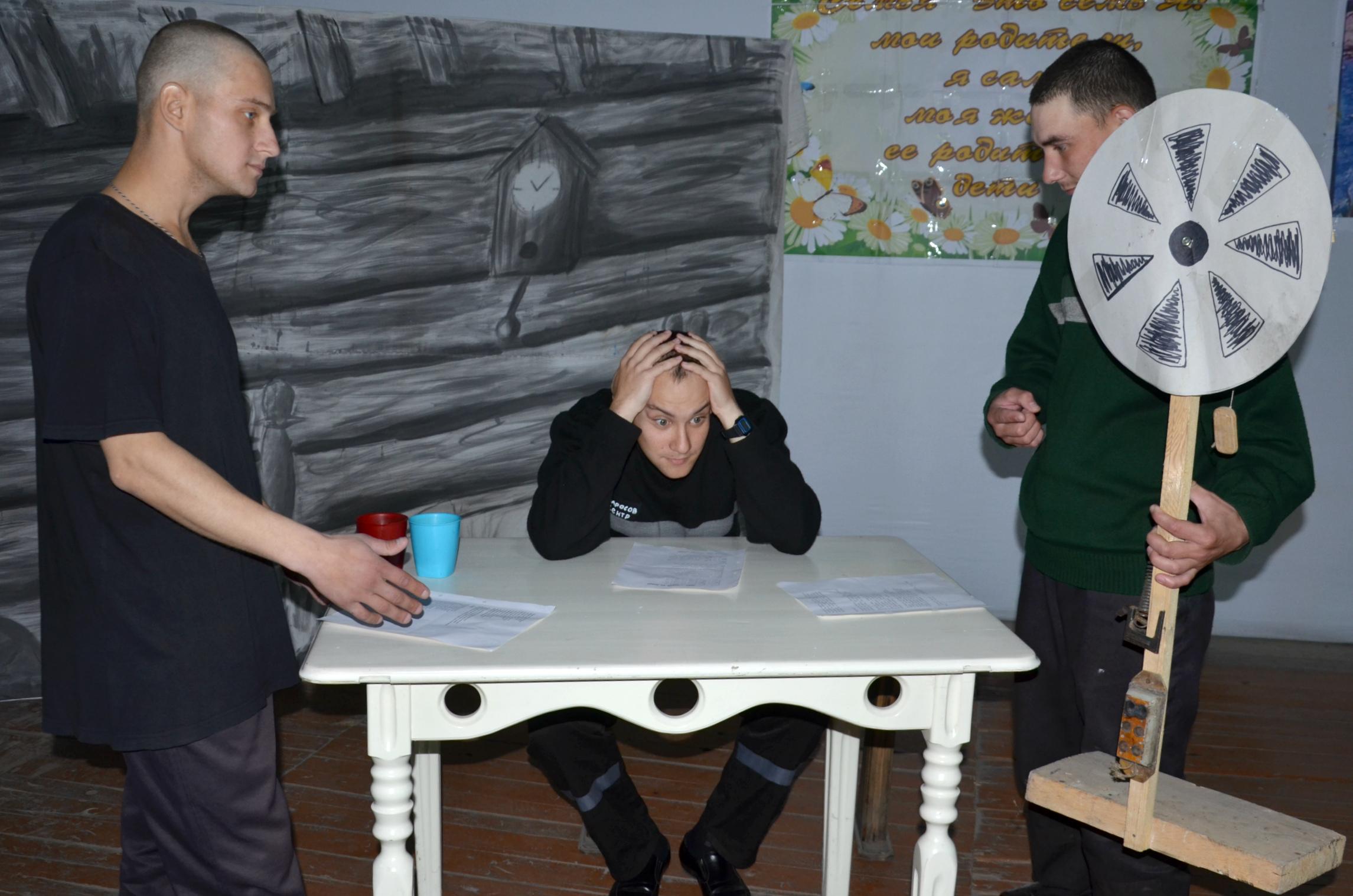 В ИК-5 УФСИН России по Алтайскому краю осужденные поставили спектакль по рассказу Василия Шукшина