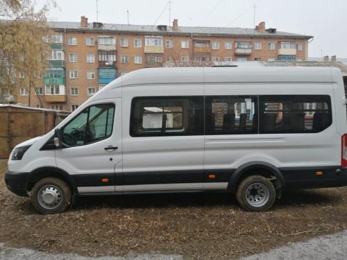 Два новеньких автобуса пополнили автопарк драмтеатра в Рубцовске
