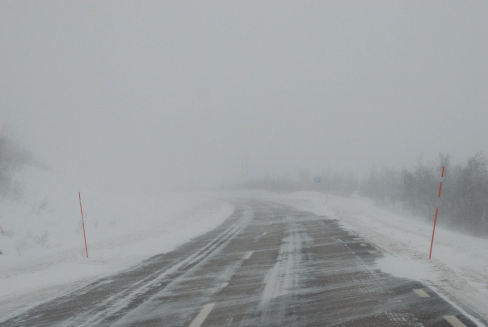 Мокрый снег и гололедица ожидается в Алтайском крае 8 и 9 ноября