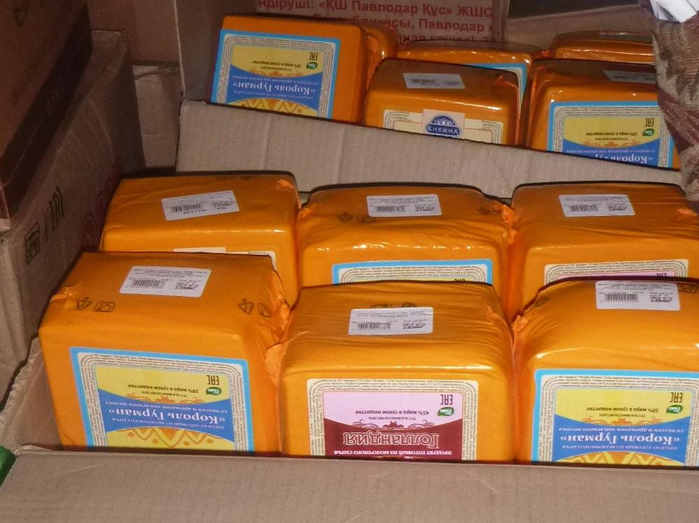 В Алтайский край пытались ввезти санкционный сыр