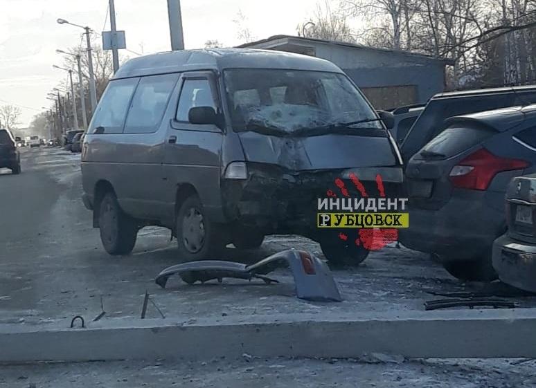 Массовое ДТП произошло в Рубцовске в минувшую среду