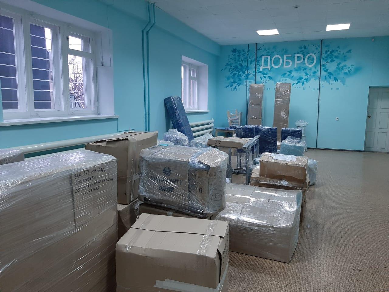 В Рубцовске продолжается подготовка к открытию модельной библиотеки «Контакт»