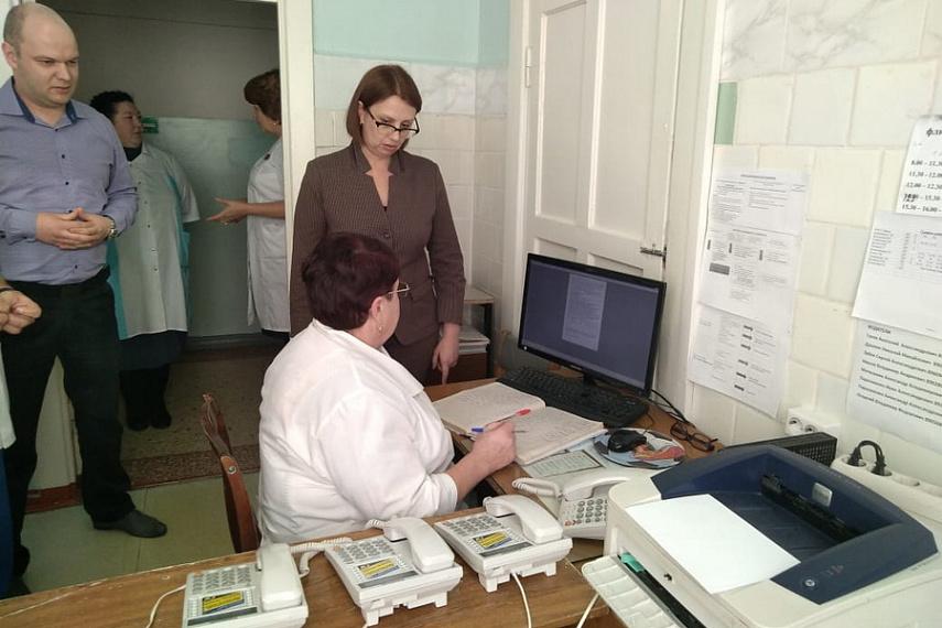 Краевой минздрав провел проверку в 3 поликлинике Рубцовска