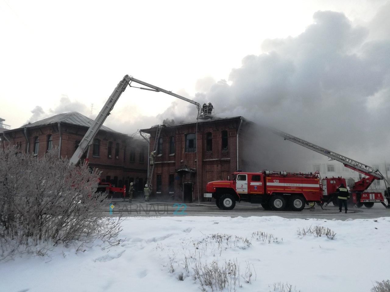 Свидетели: впожаре в«Доме афганцев» умер человек