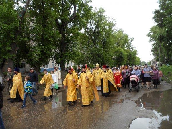 В Рубцовске прошел крестный ход
