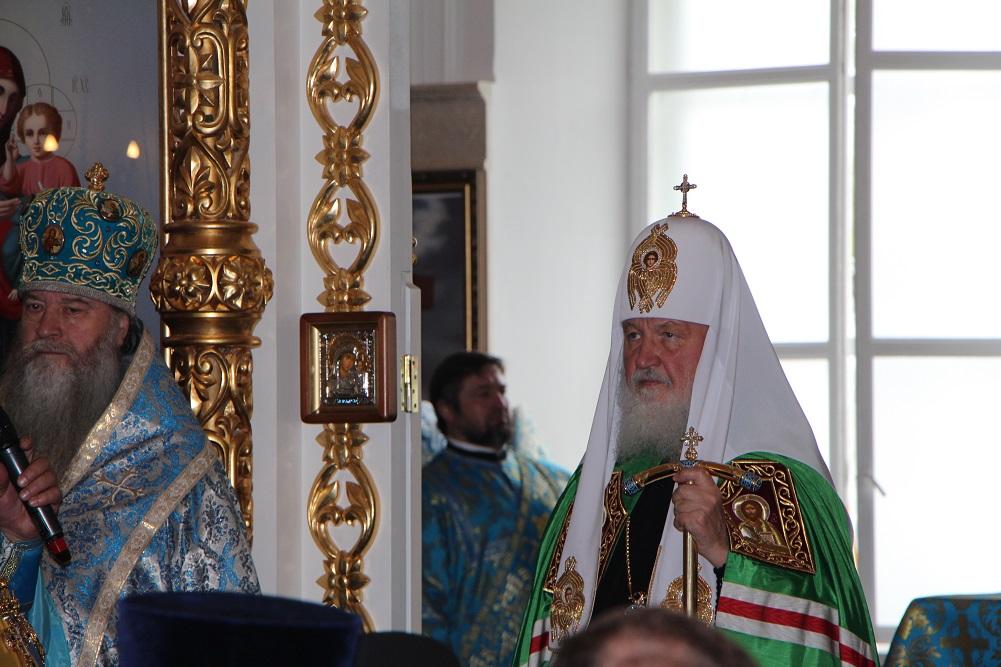 Патриарх Кирилл видит вцифровых технологиях опасность для свободы иправ человека