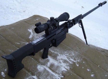 В РФ прошли тестирования новые снайперские винтовки для спецслужб