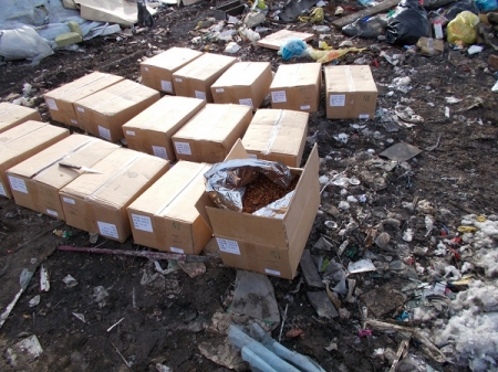 НаАлтае уничтожили 600кг мяса птицы изсоедененных штатов